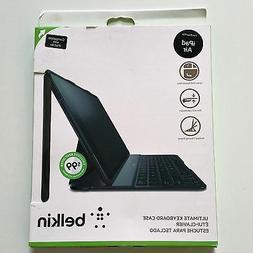 Belkin ULTIMATE KEYBOARD CASE iPad Air BLACK Folio Keys - Br