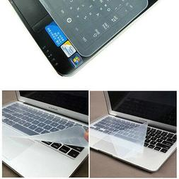 Universal Clear Silicone Desktop Laptop Keyboard Cover Prote