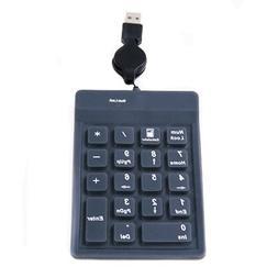 USB Mini Numpad Number Pad Keyboard for PC Laptop Notebook
