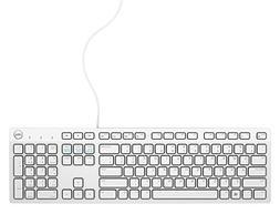 Dell USB Wired Multimedia Desktop Keyboard, English, Model: