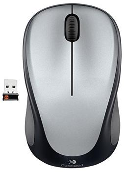 Logitech Wireless Mouse m317 with Unifying Receiver, Silver