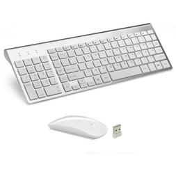 MINI WIRELESS 2.4GHZ Mouse AND Keyboard COMBO APPLE iMAC MAC