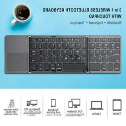 Wireless Touchpad Bluetooth Keyboard For Computer And Phone