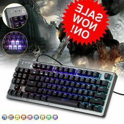 XGODY Pro RGB Backlit Wired Mechanical Gaming Keyboard K005